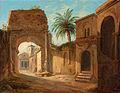 Ernst Heinrich Wilhelm Hampe - Klosterkirche auf dem Aventin in Rom.jpg