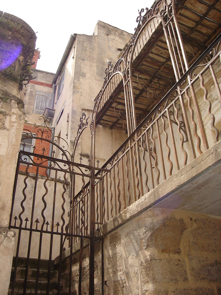 file escalier ext rieur de la synagogue de