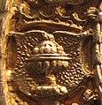 Escudo da Galiza na medalha de Nüremberg adicada a Carlos V (1521).jpg