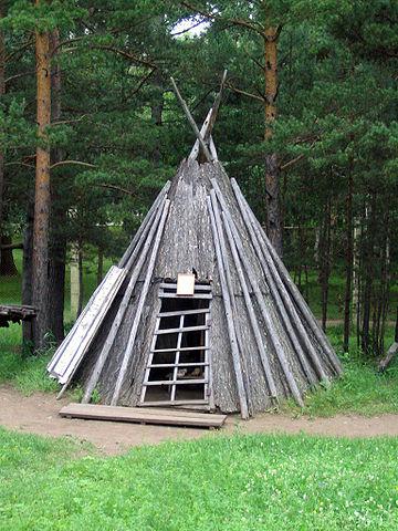 Tradycyjny dom Ewenków