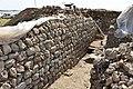 Excavations, a Parthian building at Qalatga Darband, Darband-i Rania, Sulaymaniyah Governorate, Iraqi Kurdistan.jpg