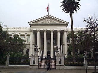 History of Chile during the Parliamentary Era (1891–1925) - Former National Congress in Santiago de Chile, ex-seat of the parliamentary power.
