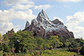 Expedition Everest train ascending lift (Disney's Animal Kingdom).jpg