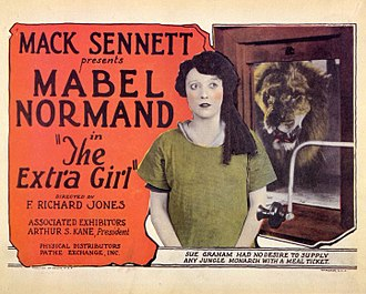 The Extra Girl - Lobby card