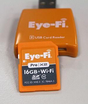Eye-Fi - 16GB Eye-Fi Pro X2 Card