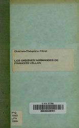 Les origines normandes de François Villon