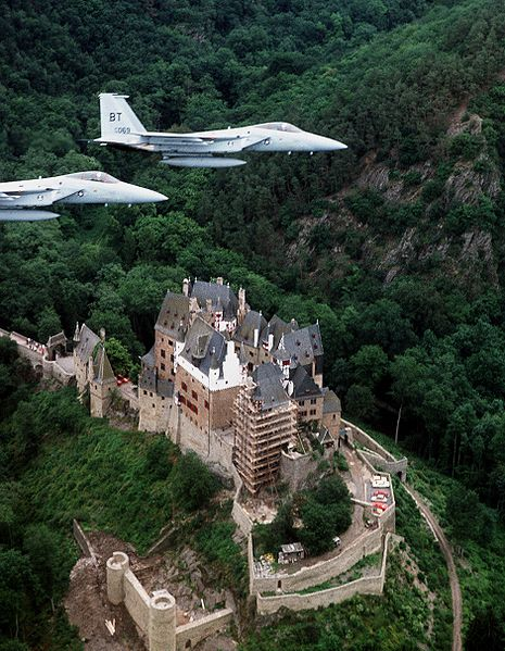 File:F-15s over Burg Eltz 1977.JPEG