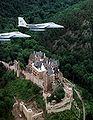 F-15s over Burg Eltz 1977.JPEG
