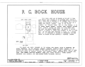 F. C. Bogk House, 2420 North Terrace Avenue, Milwaukee, Milwaukee County, WI HABS WIS,40-MILWA,15- (sheet 1 of 11).png