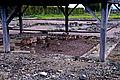 F07 Alesia Ausgrabungen, Wohnhaus mit Fußbodenheizung.0032.JPG