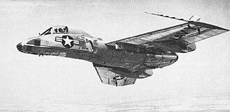 Vought F7U Cutlass - F7U-3P reconnaissance aircraft
