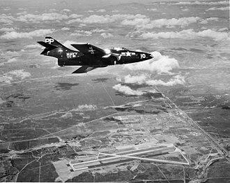 Marine Corps Air Station Miramar - NAS Miramar in 1954.