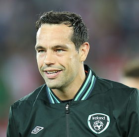 FIFA WC-qualification 2014 - Austria vs Ireland 2013-09-10 - David Forde 01.jpg
