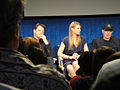 FRINGE On Stage @ the Paley Center - John Noble, Anna Torv, Akiva Goldsman (5741152641).jpg