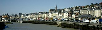 Trouville-sur-Mer - Banks of the Touques River
