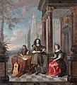 Familjeporträtt av Hieronymus Janssens från Antwerpen, 1600-tal - Hallwylska museet - 98763FXD.jpg