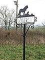 Farm sign, Whiterig Lodge - geograph.org.uk - 304081.jpg