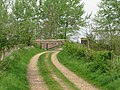Farm track and footpath over the railway line - geograph.org.uk - 1272615.jpg
