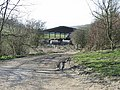 Farm track to cattle shed - geograph.org.uk - 363690.jpg