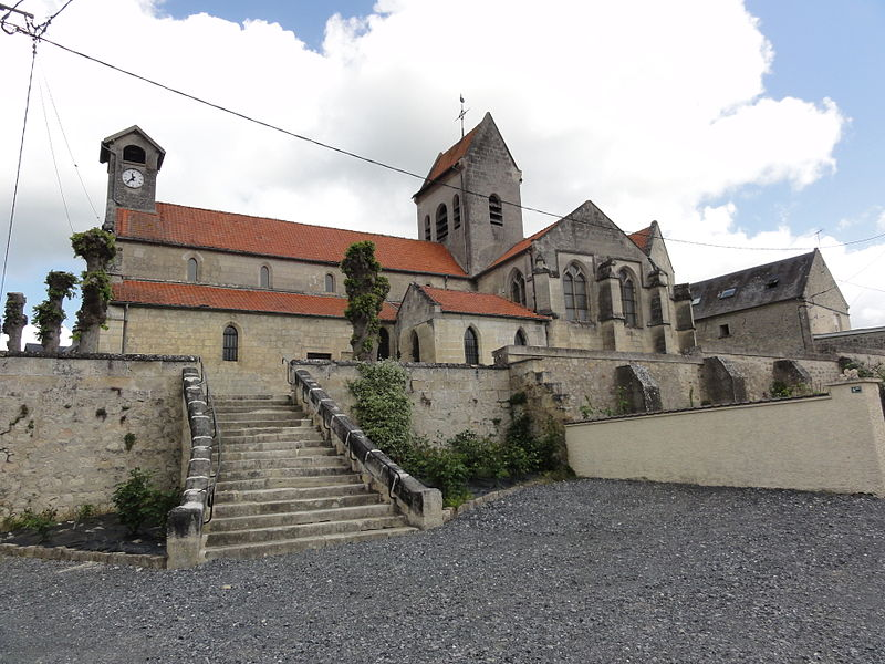 Faucoucourt (Aisne) église