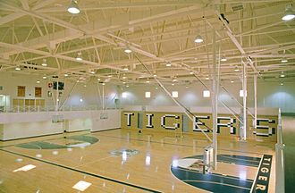 Fayette County High School (Georgia) - Fayette County High School gym