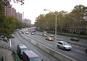 FDR Drive - Looking north from 6th Street overpass