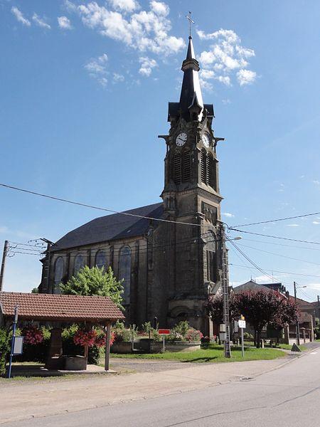 Fenneviller (M-et-M) église
