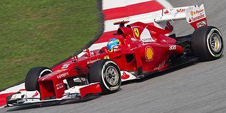 Ferrari F2012 - Image: Fernando Alonso 2012 Malaysia Qualify
