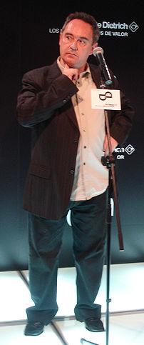 Ferran Adrià. Spanish chef in