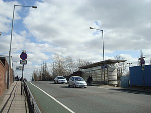 2011 England riots - Ferry Lane, Tottenham Hale, location of the shooting