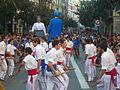Festa Major de Gràcia 2011 - Bastoners de Barcelona - XIII cercavila de cultura popular - carrer Gran P1330068.jpg