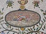 File-Pontifical Academy of Sciences, Vatican City - Fontana della Peschiera - Fish mosaic.jpg