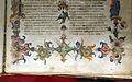 Firenze, commedia di dante, codice miniato da simone camaldolese e aiuti, purgatorio canto I, 1398, tempi 1, c. 32r, 09.JPG
