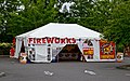 Fireworks sales tent in Walmart parking lot, Beaverton (2017).jpg