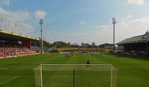 Firhill Stadium - Image: Firhill No 2