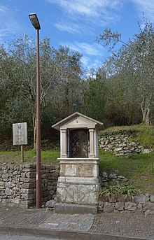 First station of the cross Arco Laghel.jpg
