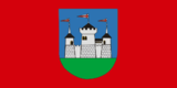 Flag of Miadzieł and Miadzieł district, Belarus.png
