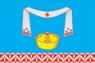 Flag of Pokrovsky rayon (Oryol oblast).png