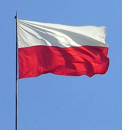 http://upload.wikimedia.org/wikipedia/commons/thumb/5/5a/Flag_of_Poland.jpg/250px-Flag_of_Poland.jpg
