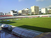 Flamurtari Stadium North Stand.JPG