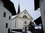 Catholic parish church hl.  Margareta and cemetery