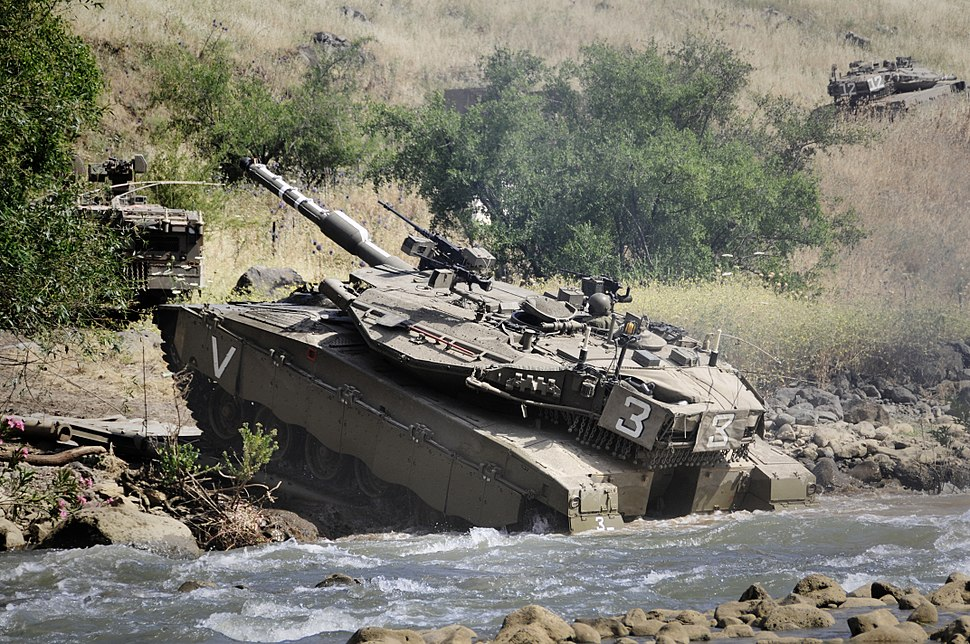 Flickr - Israel Defense Forces - Armored Brigade Drill in the Golan Heights