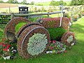 Floral Tribute to Harry Ferguson, Growell - geograph.org.uk - 1482899.jpg