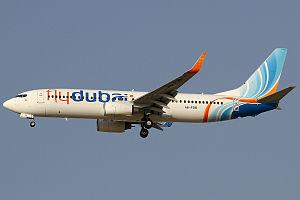 Flydubai - Flydubai Boeing 737-800 approaching Dubai