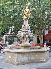 Fontaine de l'Ange (Carpentras)