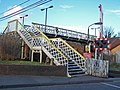 Footbridge at Snodland station - geograph.org.uk - 723897.jpg