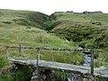 Footbridge over the Maesnant - geograph.org.uk - 1991560.jpg