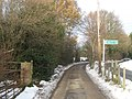 Footpath junction near Cherry Lodge Golf Course - geograph.org.uk - 2195840.jpg