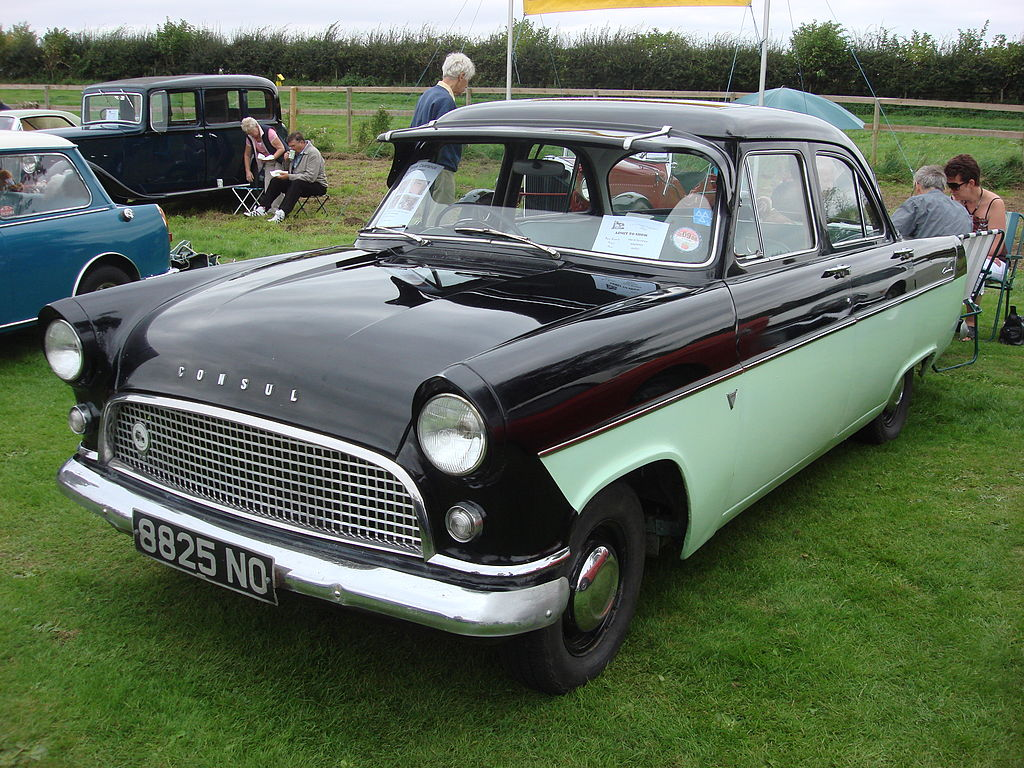 File ford consul wikimedia commons for What was a consul