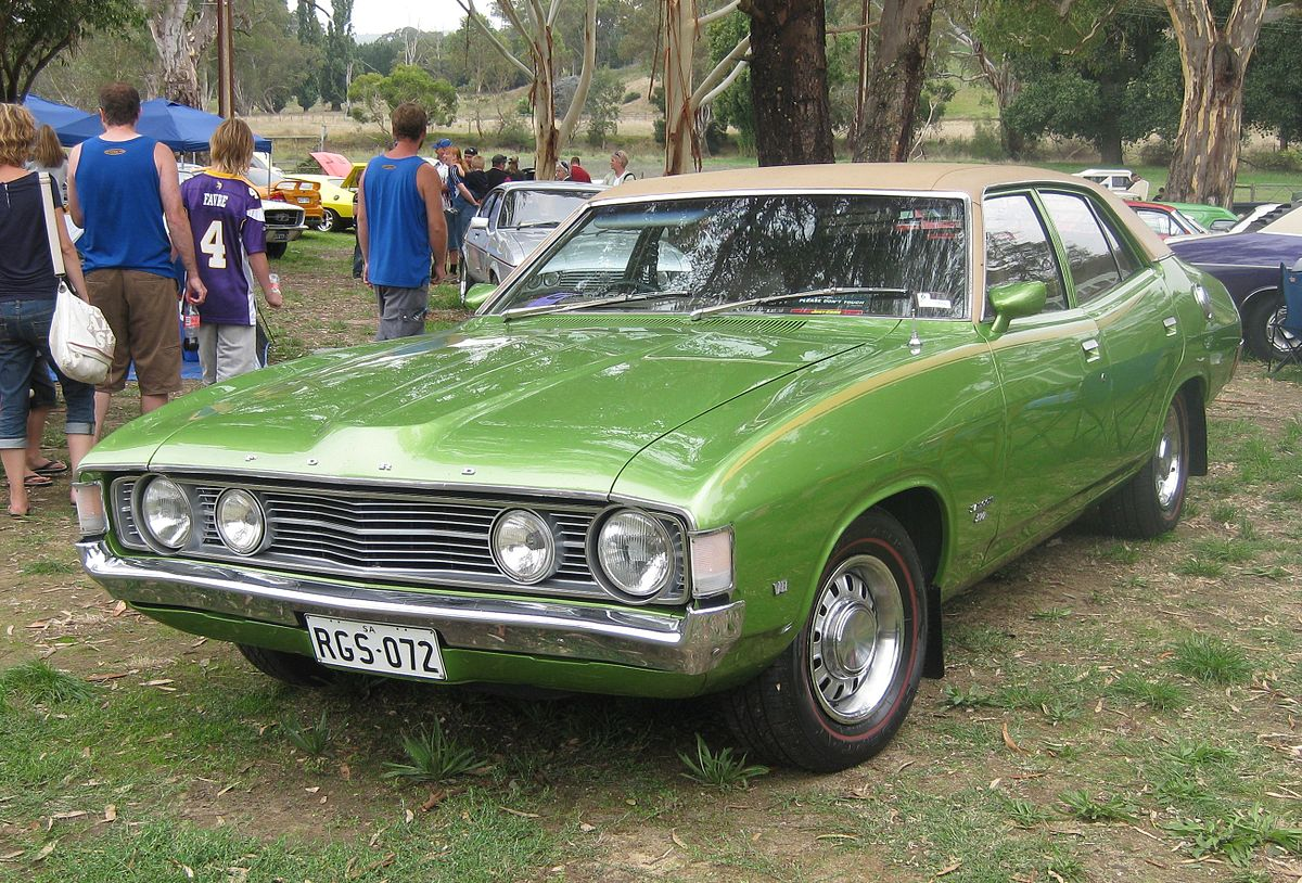 Px Ford Xa Falcon Sedan With Gs Rally Pack on 1966 Ford Falcon Wagon